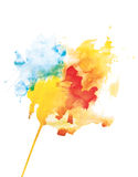 Watercolor abstraction Royalty Free Stock Photos