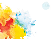 Watercolor abstraction background Royalty Free Stock Photography