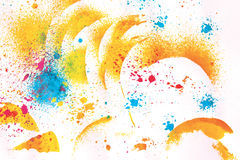 Watercolor abstraction background Royalty Free Stock Images