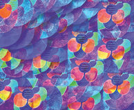 Watercolor abstraction Royalty Free Stock Photography
