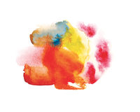 Watercolor abstraction Stock Image