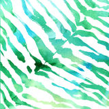 Watercolor animal print background. Stock Images
