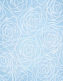 Watercolor antique hand painted roses seamless wallpaper. Watercolor antique hand painted roses on a textured linen ground seamless pattern Royalty Free Stock Images