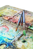 Watercolor art Stock Image