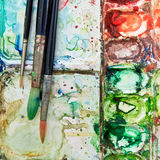 Watercolor art Royalty Free Stock Photography
