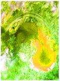 Watercolor art abstract background fresh beautiful water liquid blob nature spri splash textured wet wash blurred overflow fantasy. Art abstract background Royalty Free Stock Photo