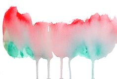 Watercolor art brush texture background Stock Photography