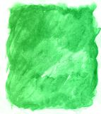 Art. Watercolor green background. Beautiful planet. This is a watercolor. Art hand drawn texture. beautiful color Stock Image