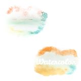 Watercolor art hand paint on white. EPS 10. Watercolor art hand paint on white background. And also includes EPS 10 vector Stock Photography
