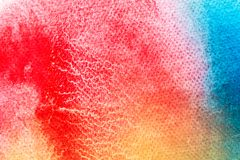 Watercolor art hand paint on white watercolor texture background royalty free stock image