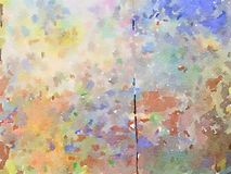 Watercolor artwork background design Stock Image
