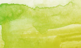 Watercolor background. Watercolor green texture,used as background or backldrop Royalty Free Stock Photo