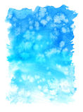 WaterColor Background. Abstract art hand paint Stock Photography