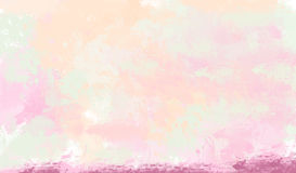 Watercolor background. Abstract colorful watercolor background/ digital painting Stock Photos