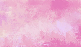 Watercolor  background. Abstract pink watercolor for background. Digital art painting Royalty Free Stock Photos