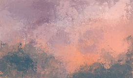 Watercolor background. Abstract pink watercolor for background. Digital painting Royalty Free Stock Photo