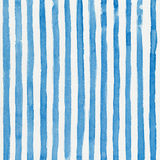 Watercolor background. With blue vertical stripes on white paper Royalty Free Stock Image