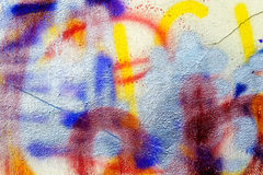 Watercolor background, abstract pattern of walls Stock Image