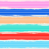 Watercolor  background with color stripes Royalty Free Stock Images