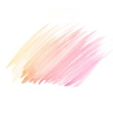 Watercolor background. colorful yellow pink water color Royalty Free Stock Image