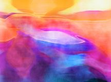 Watercolor Background Effect Royalty Free Stock Photos
