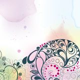 Watercolor_background_eps10 Royalty Free Stock Photo