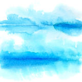 Watercolor background with folds. Abstract watercolor background with folds - space for text Royalty Free Stock Images