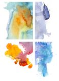 Watercolor background 10 Royalty Free Stock Photos