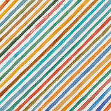 Watercolor background. With multicolor diagonal stripes on white paper Royalty Free Stock Photos