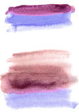 Watercolor background. Multicolor wash brush. Abstract texture Royalty Free Stock Images