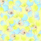Seamless abstract hand illustrated pattern. royalty free illustration