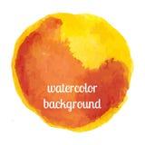 Watercolor background round , round background Royalty Free Stock Photos