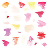 Watercolor background set. Stock Images