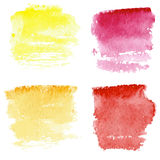 Watercolor background set Royalty Free Stock Images