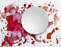 Watercolor background with spots Royalty Free Stock Photos