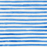 Watercolor background. Watercolor striped blue and white background Royalty Free Stock Photo
