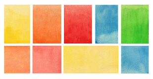 Watercolor background texture. painting on paper Royalty Free Stock Images