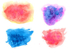Watercolor background texture Royalty Free Stock Image