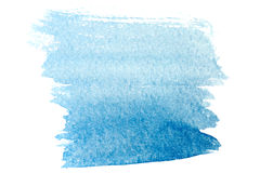 Watercolor background ultramarine Stock Photo