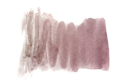 Watercolor background umber Stock Photography