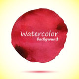 Watercolor background. Watercolor vector background design. Hand drawn illustration. Abstract colorful shapes vector illustration