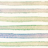 Watercolor background with vintage colorful  stripes Stock Image