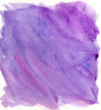 Watercolor background. Beautiful lilac background, very saturated Royalty Free Stock Images