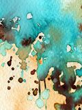 Watercolor background for websites Stock Photography