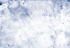 Free Watercolor Background With Light Blueberry-colored Splashes For Artistic Banner, Template Postcard Design. Stock Photos - 161336623