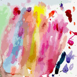 Watercolor background for your design Stock Image