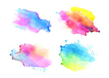 Watercolor backgrounds. Beautiful abstraction Royalty Free Stock Images