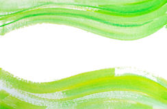 Watercolor backgrounds of waves and lines Royalty Free Stock Image
