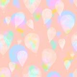 Watercolor balloon Stock Photography