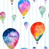 Watercolor balloon Royalty Free Stock Photography